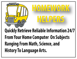Homework helper databases
