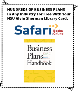 Hundreds of Business Plans from Safari Books online