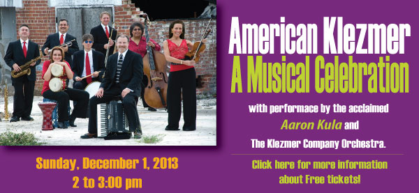 American Klezmer A Musical Celebration