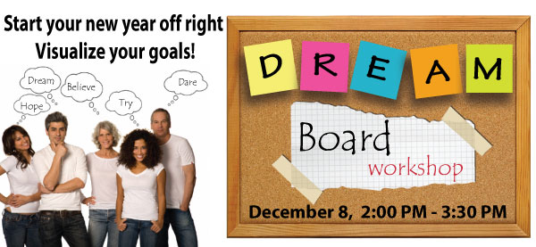 Dream Board Words Dream Board Workshop