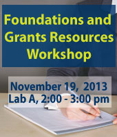 Foundations and Grant Resources Workshop