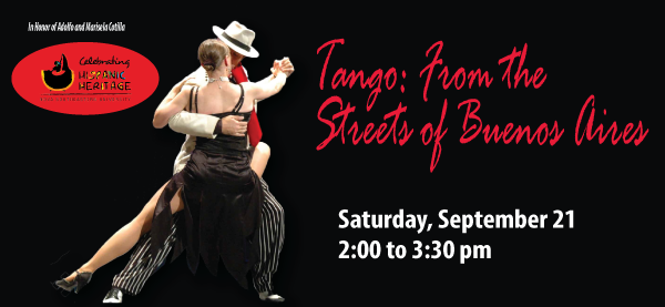 Tango: From the Streets of Buenos Aires