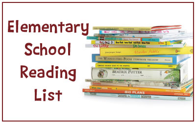 Elementary School Reading List