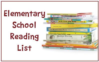 Elementary School Reading List