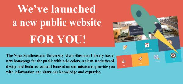 New public Website