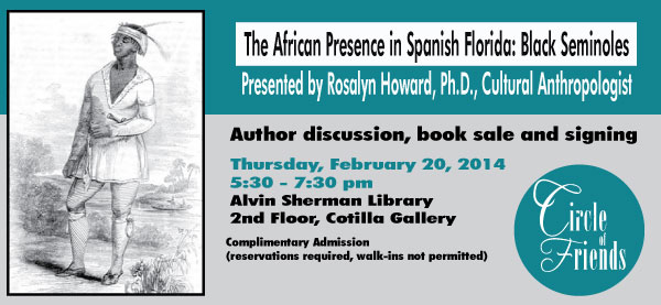 Rosalyn Howard: African Presence in Spanish Florida: Black Seminoles