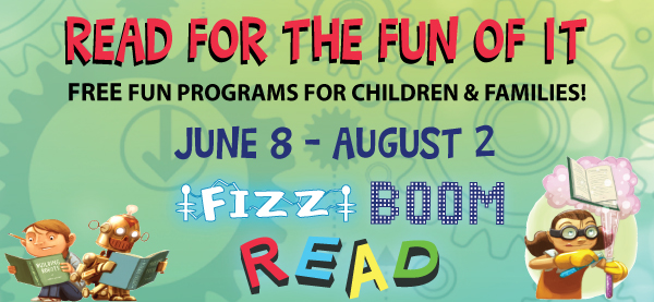 Read for the Fun of It summer programs for kids
