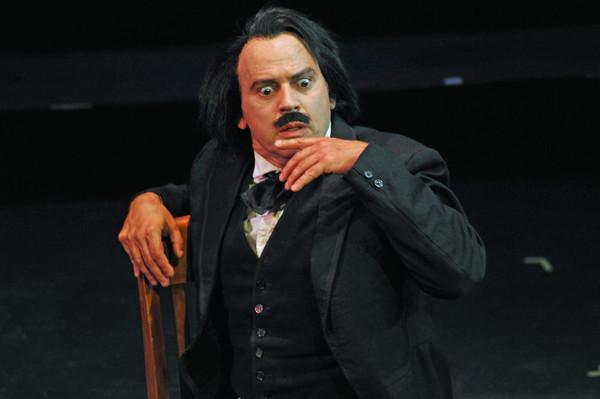 Duffy as Edgar Allan Poe