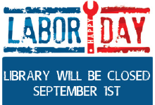 labor day library closed