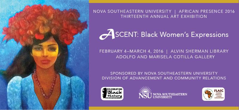 Ascent: Black Women's Expressions exhibit