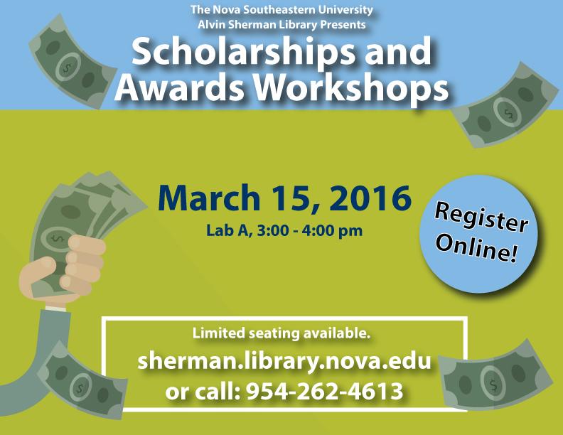 Scholarship and Awards Workshops