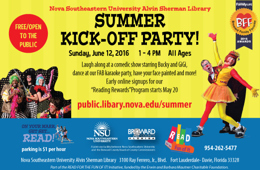 Summer Reading Kick-off Event