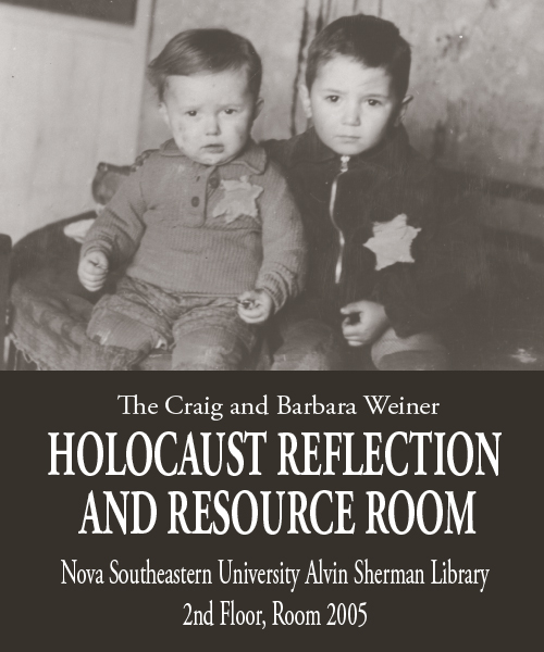 Holocaust reflection and resource room