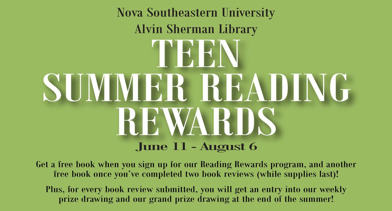 Teen Reading Rewards