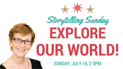 Explore the World...Storytelling Sunday