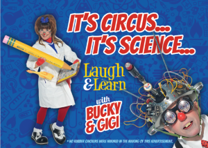 Bucky and Gigi science project
