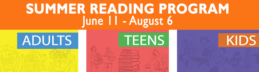 Summer Reading at the Alvin Sherman Library