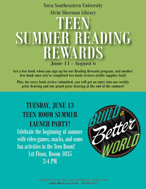 Teen Summer Reading Rewards