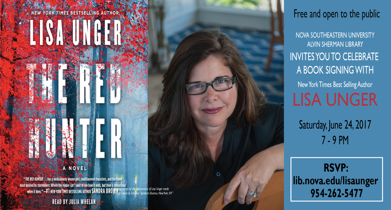 Best Selling Author Lisa Unger Booksigning