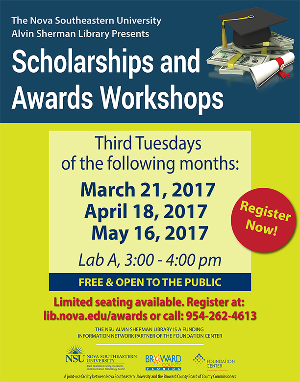 Scholarships & Awards Workshop