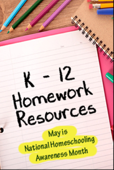 A guide to helping you find homework resources at the library