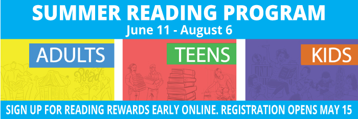 Read all summer long and win prizes.