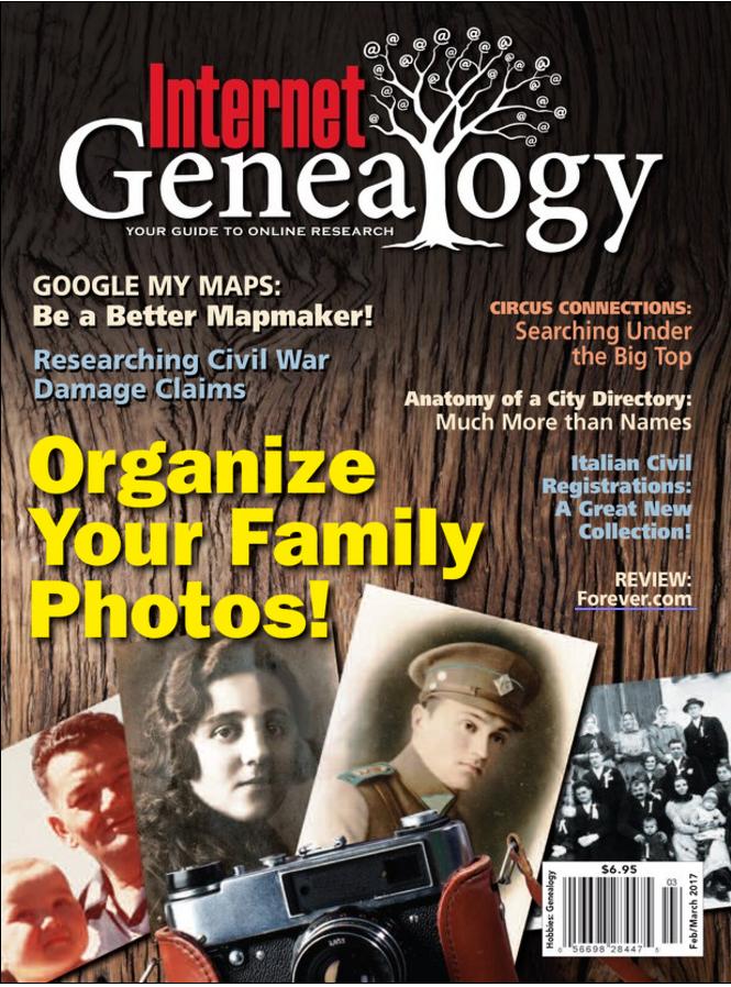 Download Genealogy tree using Flipster