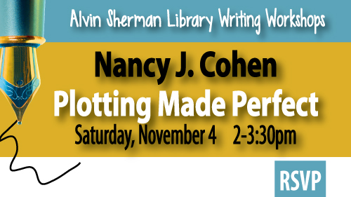 Nancy Cohen, plotting made perfect