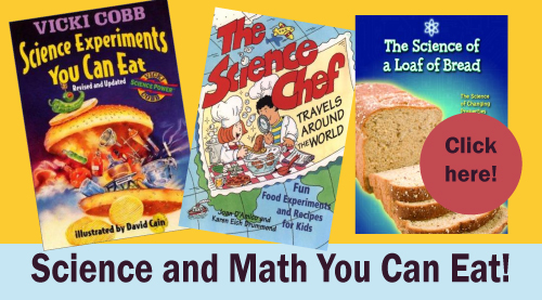 science and math you can eat book list