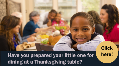 etiquette for children at thanksgiving