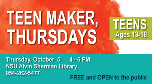 Teen Maker Thursday