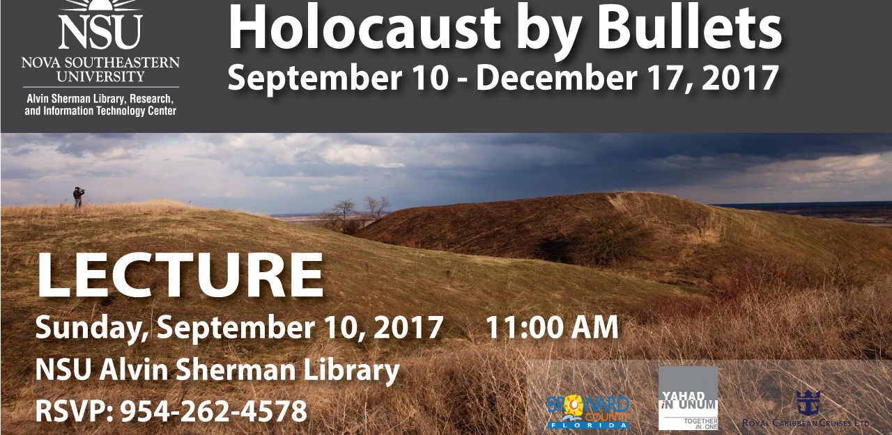 Holocaust by Bullets lecture