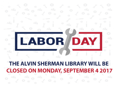 Labor Day, Closed Monday, September 4