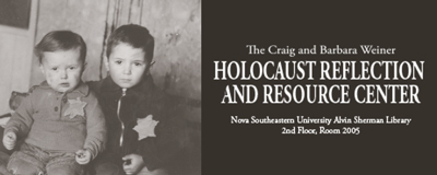 Holocaust Reflection and Resource Center