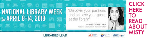 national library week-Misty Copeland