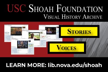 USC SHoah Foundation database
