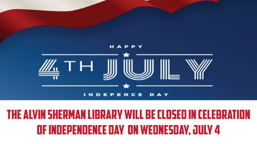 library will be closed on July 4