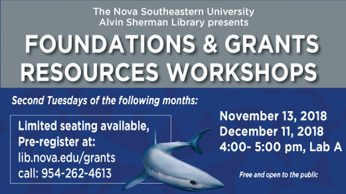 Foundations and Grants Workshops