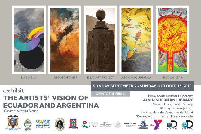 Exhibit:  The Artists vision of Ecuador and Argentina