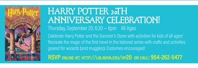 Harry Potter 20th Anniversary Celebration!