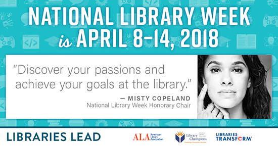 Celebrate National Library Week with Misty Copeland!