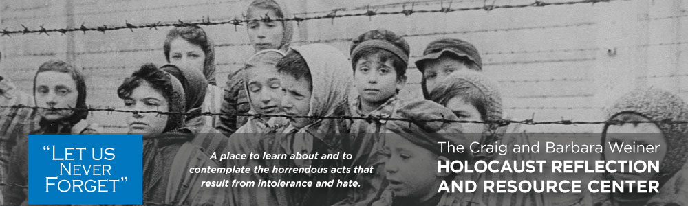 Holocaust Reflection and Resource Center ad