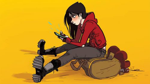Non-Superhero Graphic Novels for Teens
